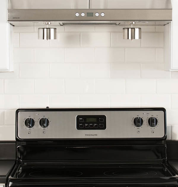 STFS Decorative stainless steel range hood covers