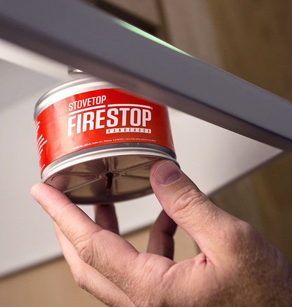 Stovetop Firestop Rangehood Fire Suppression Installation