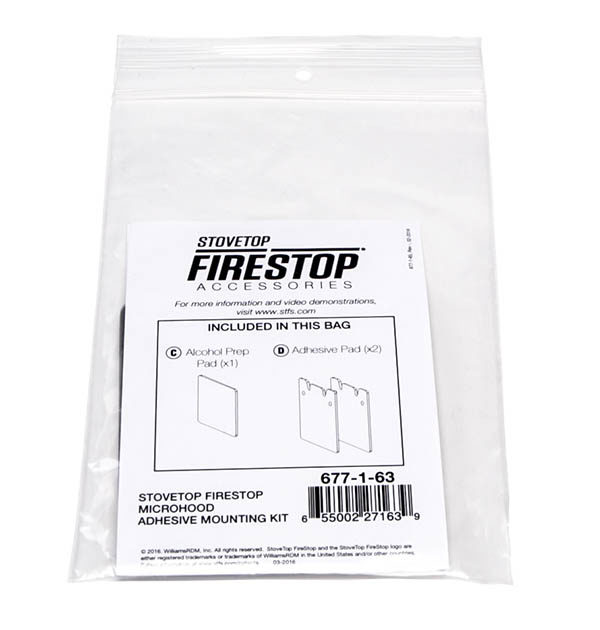 Stovetop Firestop Fire Suppression Accessories