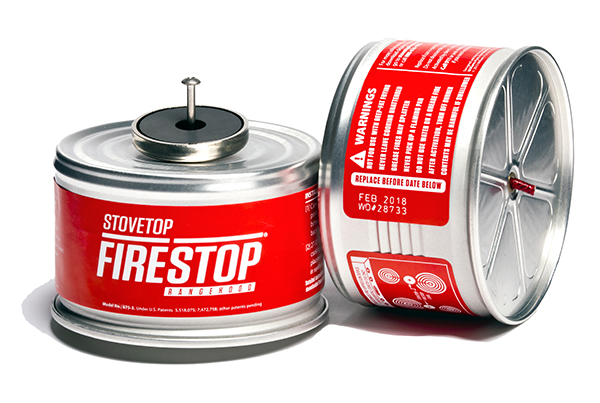 Stovetop Firestop Rangehood Fire Suppression